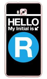【送料無料】 Cf LTD サブウェイイニシャル R サックスブルー (クリア) / for ZenFone 4 Selfie ZD553KL/MVNOスマホ(SIMフリー端末) 【Coverfull】zenfone 4 selfie ケース zenfone 4 selfie カバー zd553kl ケース zd553kl カバー