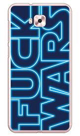 【送料無料】 Cf LTD FUCKWARS 小 ブルー (クリア) / for ZenFone 4 Selfie ZD553KL/MVNOスマホ(SIMフリー端末) 【Coverfull】zenfone 4 selfie ケース zenfone 4 selfie カバー zd553kl ケース zd553kl カバー ゼンフォン4セルフィー ケース