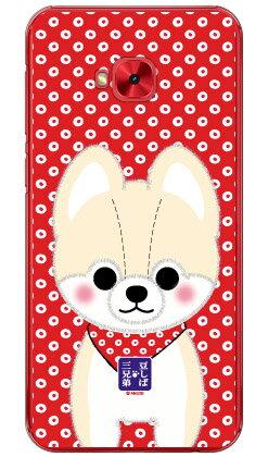 【送料無料】 豆しば三兄弟シリーズ 弟子さすけ (クリア) / for ZenFone 4 Selfie Pro ZD552KL/MVNOスマホ(SIMフリー端末) 【平面】【受注生産】【スマホケース】【ハードケース】
