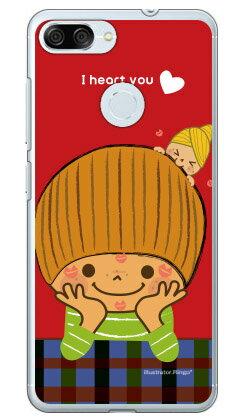 【送料無料】 だいすき (クリア) design by Ringo / for ZenFone Max Plus M1 ZB570TL/MVNOスマホ(SIMフリー端末) 【Coverfull】zenfone max plus zb570tl ケース zenfone max plus zb570tl カバー zenfonemaxplusケース zenfonemaxplusカバー