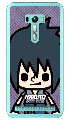 ナルト疾風伝シリーズ NARUTO×PansonWorks ズーム うちはサスケ (クリア) / for ZenFone Selfie ZD551KL/MVNOスマホ(SIMフリー端末)zenfone selfie ケース zenfone selfie カバー ゼンフォンセルフィー ケース