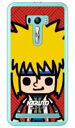 ナルト疾風伝シリーズ NARUTO×PansonWorks ズーム 波風ミナト (クリア) / for ZenFone Selfie ZD551KL/MVNOスマホ(SIMフリー端末)zenfone selfie ケース zenfone selfie カバー ゼンフォンセルフィー ケース