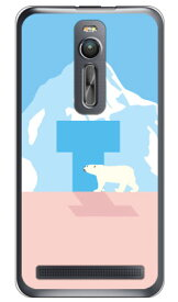 【送料無料】 Cf LTD シロクマ イニシャル T (クリア) / for ZenFone 2 ZE551ML/MVNOスマホ(SIMフリー端末) 【Coverfull】zenfone2 ケース zenfone2 カバー zenfone2ケース zenfone2カバー ゼンフォン2 ケース ゼンフォン2 カバー 楽天モバイル ケース