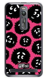 【送料無料】 ブライトくん ピンク (クリア) / for ZenFone 2 ZE551ML/MVNOスマホ(SIMフリー端末) 【YESNO】zenfone2 ケース zenfone2 カバー zenfone2ケース zenfone2カバー ゼンフォン2 ケース ゼンフォン2 カバー 楽天モバイル ケース 楽天モバイル