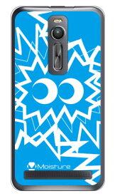 【送料無料】 MASAGON 「PIKA PIKA BIG ブルー」 (クリア) / for ZenFone 2 ZE551ML/MVNOスマホ(SIMフリー端末) 【SECOND SKIN】zenfone2 ケース zenfone2 カバー zenfone2ケース zenfone2カバー ゼンフォン2 ケース ゼンフォン2 カバー 楽天モバイル