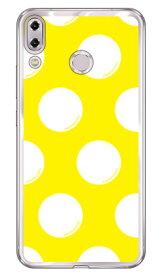 【送料無料】 ドットフライ イエロー×ホワイト (ソフトTPUクリア) / for ZenFone 5 ZE620KL・ZenFone 5Z ZS620KL/MVNOスマホ(SIMフリー端末) 【SECOND SKIN】asus zenfone 5 zenfone 5z ze620kl zs620kl 専用ケース ze620kl zs620kl ケース ze620kl