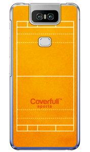 【送料無料】 水球コート オレンジ (クリア) / for ZenFone 6 ZS630KL/MVNOスマホ(SIMフリー端末) 【Coverfull】【受注生産】【スマホケース】【ハードケース】zenfone 6 ケース zenfone 6 カバー zs630kl