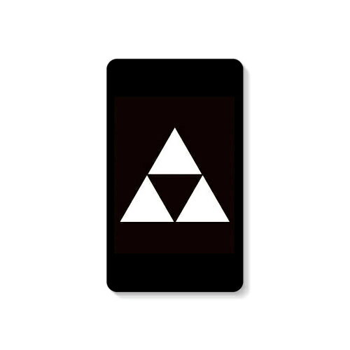 【送料無料】 家紋シリーズ モバイルバッテリー 三つ鱗 (みつうろこ) 【Coverfull】 10000mAh microUSBケーブル付き 充電器 iPhone アイフォン Android アンドロイド