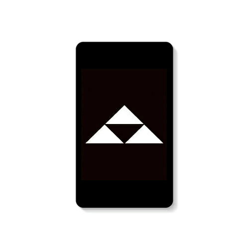 【送料無料】 家紋シリーズ モバイルバッテリー 北条鱗 (ほうじょううろこ) 【Coverfull】 10000mAh microUSBケーブル付き 充電器 iPhone アイフォン Android アンドロイド