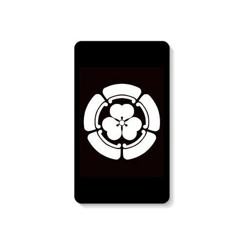 【送料無料】 家紋シリーズ モバイルバッテリー 五瓜に片喰 (ごかにかたばみ) 【Coverfull】 10000mAh microUSBケーブル付き 充電器 iPhone アイフォン Android アンドロイド