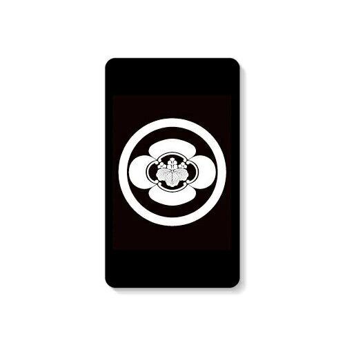 【送料無料】 家紋シリーズ モバイルバッテリー 丸に木瓜に五三桐 (まるにもっこうにごさんきり) 【Coverfull】 10000mAh microUSBケーブル付き 充電器 iPhone アイフォン Android アンドロイド