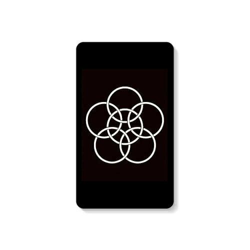 【送料無料】 家紋シリーズ モバイルバッテリー 釜敷き梅鉢 (かましきうめばち) 【Coverfull】 10000mAh microUSBケーブル付き 充電器 iPhone アイフォン Android アンドロイド
