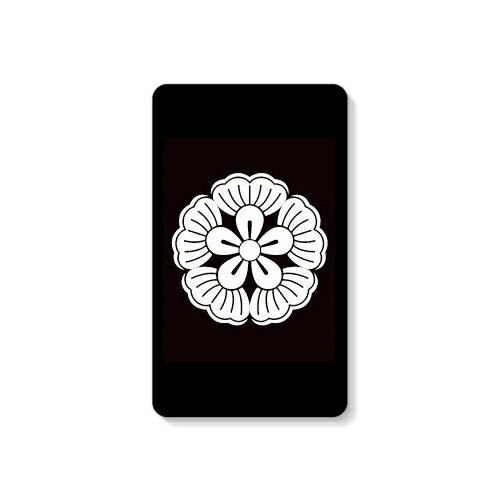 【送料無料】 家紋シリーズ モバイルバッテリー 葛の花 (くずのはな) 【Coverfull】 10000mAh microUSBケーブル付き 充電器 iPhone アイフォン Android アンドロイド