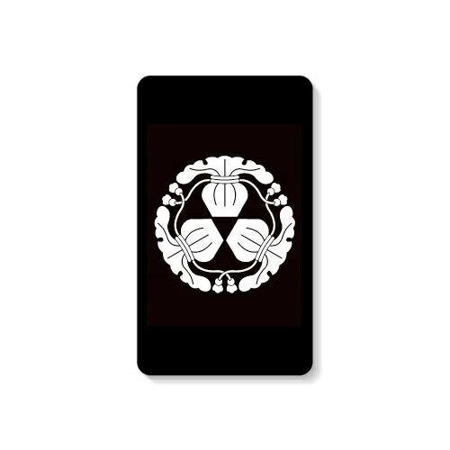 【送料無料】 家紋シリーズ モバイルバッテリー 三つ瓶子 (みっつへいし) 【Coverfull】 10000mAh microUSBケーブル付き 充電器 iPhone アイフォン Android アンドロイド