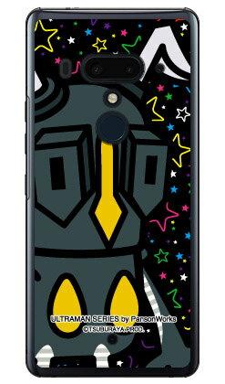 ウルトラマンシリーズ ゼットン ズームスター (クリア) / for HTC U12+/MVNOスマホ(SIMフリー端末) 【平面】【受注生産】【スマホケース】【ハードケース】htc u12+ U12プラス u12+ ケース u12+ カバー U12プラス ケース U12プラス カバー htc u12+ ケース htc