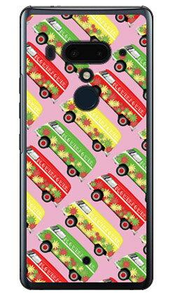 【送料無料】 ヒッピーカー ピンク (クリア) / for HTC U12+/MVNOスマホ(SIMフリー端末) 【SECOND SKIN】【平面】【受注生産】【スマホケース】【ハードケース】htc u12+ U12プラス u12+ ケース u12+ カバー U12プラス ケース U12プラス カバー htc u12+ ケース htc