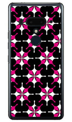 【送料無料】 MHAK 「SUN」 ブラック×ピンク (クリア) / for HTC U12+/MVNOスマホ(SIMフリー端末) 【SECOND SKIN】【スマホケース】【ハードケース】htc u12+ U12プラス u12+ ケース u12+ カバー U12プラス ケース U12プラス カバー htc u12+ ケース htc