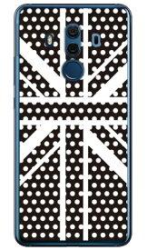 【送料無料】 Cross dot union jack ブラック (ソフトTPUクリア) design by ROTM / for HUAWEI Mate 10 Pro BLA-L29・703HW/MVNOスマホ(SIMフリー端末)・SoftBank 【SECOND SKIN】huawei mate 10 pro bla-l29 ケース huawei mate 10 pro bla-l29 カバー