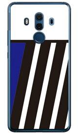 【送料無料】 BLUE & BLACK ブルー (ソフトTPUクリア) design by ROTM / for HUAWEI Mate 10 Pro BLA-L29・703HW/MVNOスマホ(SIMフリー端末)・SoftBank 【SECOND SKIN】huawei mate 10 pro bla-l29 ケース huawei mate 10 pro bla-l29 カバー ハーウェイmate 10