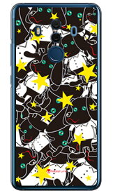 【送料無料】 Doggy Star (クリア) design by Moisture / for HUAWEI Mate 10 Pro BLA-L29・703HW/MVNOスマホ(SIMフリー端末)・SoftBank 【SECOND SKIN】huawei mate 10 pro bla-l29 ケース huawei mate 10 pro bla-l29 カバー ハーウェイmate 10 proケース
