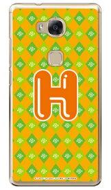 アイドルタイムプリパラシリーズ イニシャル にの H (クリア) / for HUAWEI GR5 KII-L22/MVNOスマホ(SIMフリー端末)gr5 huawei gr5 kii-l22 ケース gr5 kii-l22 カバー kii-l22 ケース kii-l22 カバー gr5 ケース gr5 カバー huawei gr5 ケース