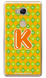 アイドルタイムプリパラシリーズ イニシャル にの K (クリア) / for HUAWEI GR5 KII-L22/MVNOスマホ(SIMフリー端末)gr5 huawei gr5 kii-l22 ケース gr5 kii-l22 カバー kii-l22 ケース kii-l22 カバー gr5 ケース gr5 カバー huawei gr5 ケース