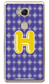 アイドルタイムプリパラシリーズ イニシャル みちる H (クリア) / for HUAWEI GR5 KII-L22/MVNOスマホ(SIMフリー端末)gr5 huawei gr5 kii-l22 ケース gr5 kii-l22 カバー kii-l22 ケース kii-l22 カバー gr5 ケース gr5 カバー huawei gr5 ケース