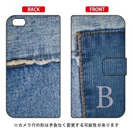 【送料無料】 手帳型スマートフォンケース フォトデニム イニシャル B design by ARTWORK / for iPhone 6s Plus/Apple 【Coverfull】iphone6splus ケース iphone6splus カバー iphone 6s plus ケース iphone 6s plus カバー アイフォン6sプラス ケース