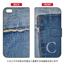 【送料無料】 手帳型スマートフォンケース フォトデニム イニシャル C design by ARTWORK / for iPhone 6s Plus/Apple 【Coverfull】iphone6splus ケース iphone6splus カバー iphone 6s plus ケース iphone 6s plus カバー アイフォン6sプラス ケース