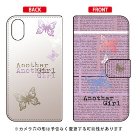 【送料無料】 手帳型スマートフォンケース Hal Ikeda 「Another Girl パープル」 / for iPhone X/XS/Apple 【SECOND SKIN】iphoneX iphoneXS ケース iphoneX iphoneXS カバー iphone X iphone XS ケース iphone X iphone XS カバーアイフォーン10 10S