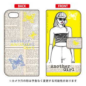 49d39e0b4e 【送料無料】 手帳型スマートフォンケース Hal Ikeda 「Another Girl イエロー」 / for iPhone SE/5s/au 【SECOND  SKIN】【スマホケース】【手帳型ケース】iPhone5s ...