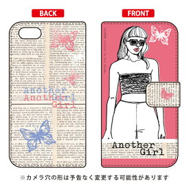 2ffcd1bf4b 【送料無料】 手帳型スマートフォンケース Hal Ikeda 「Another Girl コーラルレッド」 / for iPhone SE/5s/SoftBank  【SECOND SKIN】iPhone5sカバー/ ...