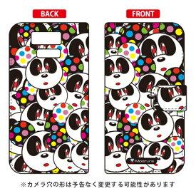 【送料無料】 手帳型スマートフォンケース Moisture 「Panda Face」 / for DIGNO DUAL 2 WX10K/WILLCOM 【SECOND SKIN】【受注生産】【スマホケース】【手帳型ケース】digno dual 2 wx10k ケース digno dual 2 ケース digno dual 2 wx10k スマホカバー willcom