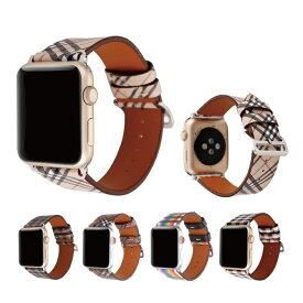 【送料無料】【Apple Watch】【アップルウォッチ】【Microfiber luxury design belt】【マイクロファイバー ラグジュアリー デザイン ベルト】【タータンチェック柄】【チェック柄】【レインボー柄】【アップルウォッチストラップ】 高級 オリジナル ナイロン バンド 美しい