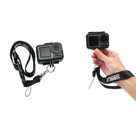 【送料無料】【STARTRC】【ST-1105565】【アクションカメラ】【GoPro Hero】【ゴープロ ヒーロー】【DJI Osmo Action】【DJI オズモ アクション】【Neck Strap & Wrist Rope】【ネックストラップ + リスト ロープ】ストラップ すぐに撮影 持ち運び