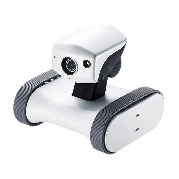 【送料無料】 SANWA SUPPLY(サンワサプライ) アボットライリー RB-RILEY外出先 スマホ 遠隔操作 移動式 ネットワーク カメラ ロボット ロボットカメラ 双方向通話 安心 安全 見守り 防犯 リアルタイム スマートフォン カメラ 留守番