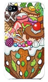 【送料無料】 おかしのやま (クリア) design by 326 / for iPhone 4S/SoftBank 【SECOND SKIN】iphone 4s ケース iphone 4s カバー iphone 4s case アイフォン4s ケース アイフォン4s カバーアイフォン4sケース アイフォン4sカバー 4s ケース 4s
