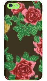 【送料無料】 SINDEE 「Splashed Rose (ブラック)」 / for iPhone 5c/SoftBank 【SECOND SKIN】【ハードケース】iPhone5cカバー/アイフォン5c/iphone5cケース/アイフォン 5c/スマートフォン/スマホケース/ケース/ソフトバンク/softbank