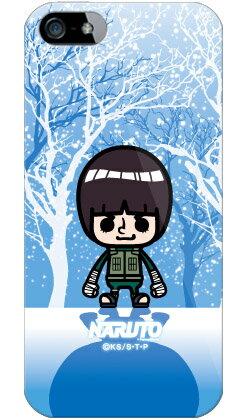 【光沢なし】 ナルト疾風伝シリーズ NARUTO×PansonWorks 冬景色 ロック・リー (ソフトTPUクリア) / for iPhone SE/5s/SoftBank iPhone5sカバー/アイフォン5s/iphone5sケース/アイフォン 5s/スマートフォン/スマホケース/ケース/ソフトバンク/softbank