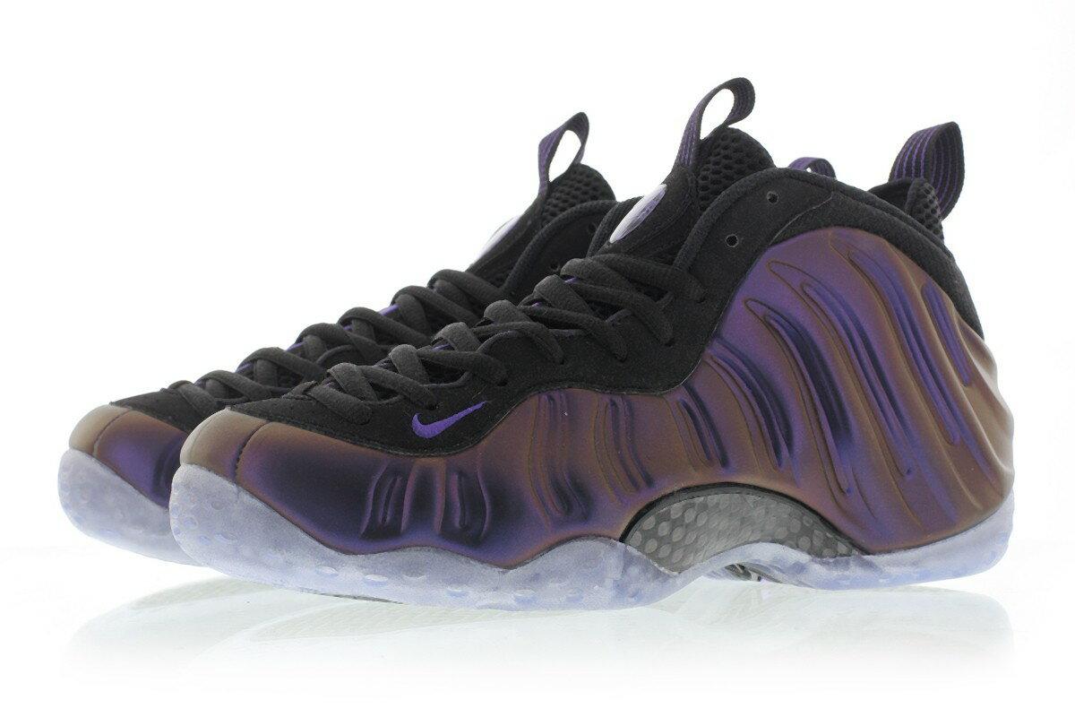 【代金引換不可】 送料無料 Men's メンズ 店舗限定 Nike Sportswear Air Foamposite One Black Varsity Purple Varsity P 314996-008 ナイキ エア フォームポジット ワン ブラック パープル 靴 シューズ ファッション 人気 バスケ バスケットボール バッシュ