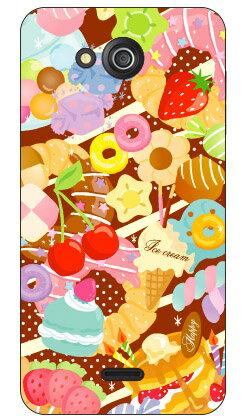 【送料無料】 Milk's Design しらくらゆりこ 「Sweet time」 / for DIGNO U 404KC/SoftBank 【Coverfull】ソフトバンク 404kc ケース404kc カバー ディグノ ケース ディグノ カバー digno ケース digno カバー digno u ケース digno u カバー スマホケース
