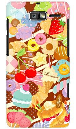 【送料無料】 Milk's Design しらくらゆりこ 「Sweet time」 / for MOTOROLA RAZR M 201M/SoftBank 【Coverfull】【全面】【ハードケース】motorola razr m 201m ケース モトローラ 201m ケース 201m スマホ ケース カバー Case/Cover