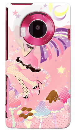 【送料無料】 Milk's Design しらくらゆりこ 「ストロベリーきのこガール」 / for LUMIX Phone 101P/SoftBank 【Coverfull】ソフトバンク 101P ケース 101P カバー 101Pケース 101Pカバー lumix phone ケース lumix phone カバー ルミックス フォン パナソニック