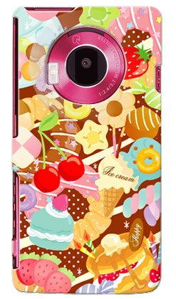 【送料無料】 Milk's Design しらくらゆりこ 「Sweet time」 / for LUMIX Phone 101P/SoftBank 【Coverfull】ソフトバンク 101P ケース 101P カバー 101Pケース 101Pカバー lumix phone ケース lumix phone カバー ルミックス フォン パナソニック