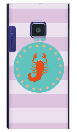 【送料無料】 蠍座 (クリア) / for LUMIX Phone 102P/SoftBank 【Coverfull】【スマホケース】【ハードケース】ソフトバンク 102P ケース 102P カバー 102Pケース 102Pカバー lumix phone ケース lumix phone カバー ルミックス フォン パナソニック