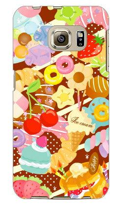 【送料無料】 Milk's Design しらくらゆりこ 「Sweet time」 / for Galaxy S6 edge 404SC/SoftBank 【Coverfull】404sc ケース 404sc カバー ギャラクシーs6エッジ ケース ギャラクシーs6エッジ カバー galaxy s6 edge ケース galaxy s6 edge カバー サムスン