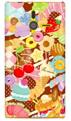 【送料無料】 Milk's Design しらくらゆりこ 「Sweet time」 / for PANTONE 6 200SH/SoftBank 【Coverfull】200sh カバー 200sh ケース 200shカバー 200shケース pantone 6 カバー pantone 6 ケース パントーン 6 カバー パントーン 6 ケース