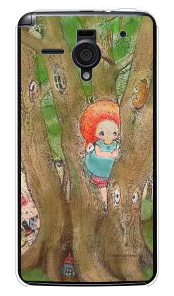 【送料無料】 森のかくれんぼ (クリア) design by Ringo / for AQUOS PHONE Xx 206SH/SoftBank 【Coverfull】206sh カバー 206sh ケース アクオスフォン 206sh カバー アクオスフォン 206sh ケース aquos phone xx 206sh カバー aquos phone xx