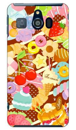 【送料無料】 Milk's Design しらくらゆりこ 「Sweet time」 / for シンプルスマホ3 509SH/SoftBank 【Coverfull】ソフトバンク シャープ 509sh ケース 509sh カバー 509shケース 509shカバー シンプルスマホ3 ケース シンプルスマホ3 カバー シンプルスマホ3 509sh