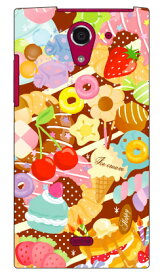 【送料無料】 Milk's Design しらくらゆりこ 「Sweet time」 / for AQUOS CRYSTAL Y 402SH/Y!mobile 【Coverfull】crystal y 402sh ケース 402sh カバー aquos crystal y ケース aquos crystal y カバー 402shケース 402shカバー アクオスクリスタルy ケース
